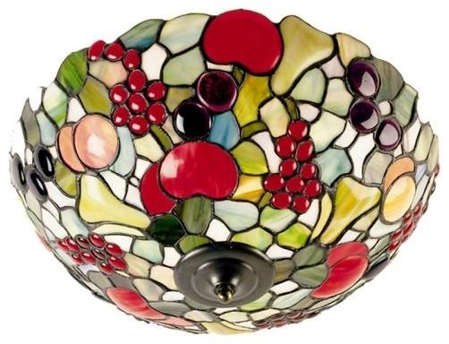 Dale Tiffany Fruit Flush Mount Light traditional-ceiling-lighting