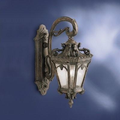 Kichler Tournai 9357LD Outdoor Wall Lantern - 10 in. - Londonderry modern-outdoor-lighting