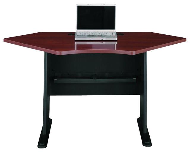 Bush Series A Hansen Cherry 42 in Corner Desk transitional-desks-and-hutches