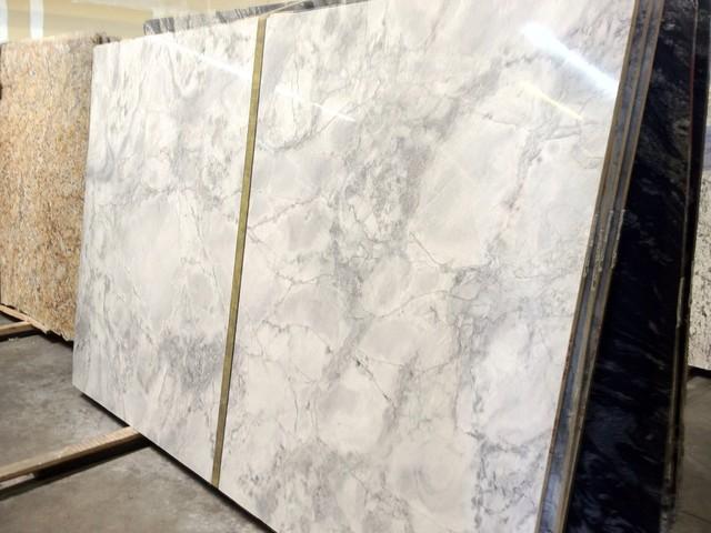 Cornerstone marble granite project super white quartzite - Cornerstone kitchens and bathrooms ...