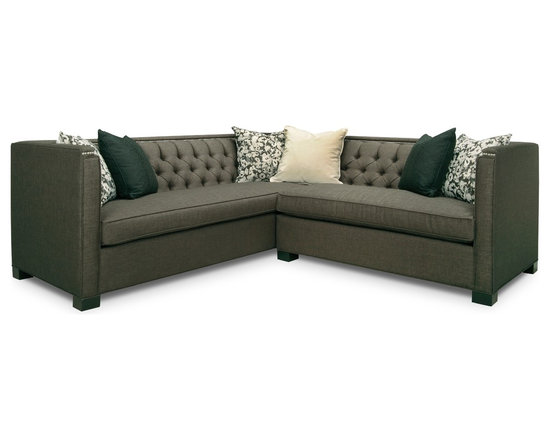 Statum Designs - Harlow Sectional - Jane by Jane Lockhart Harlow Sectional