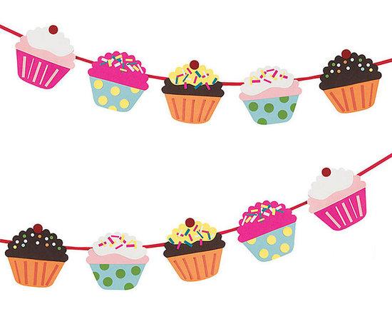 Cupcake Garland Kit -