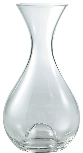 Wine Enthusiast U-Style Wine Decanter contemporary-decanters