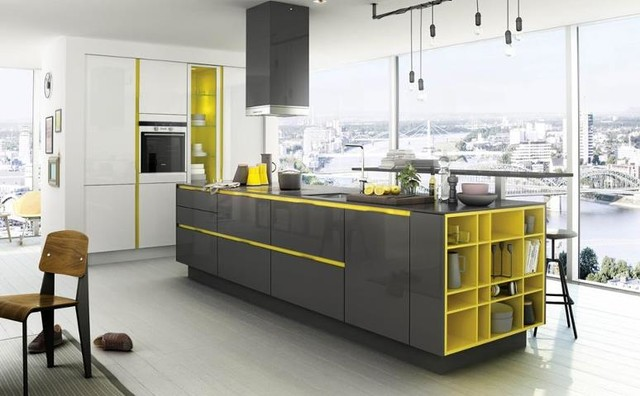 SIEMATIC SMART DESIGN CABINET contemporary-kitchen