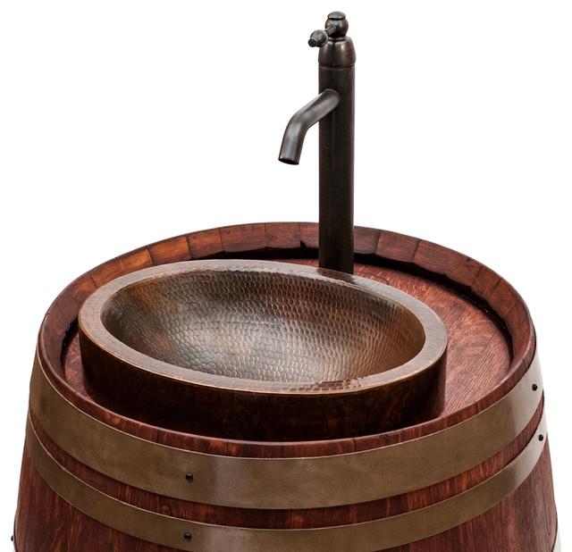 Wine Barrel Vanities eclectic-bathroom-vanities-and-sink-consoles