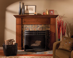 Mantel of a True Craftsman contemporary