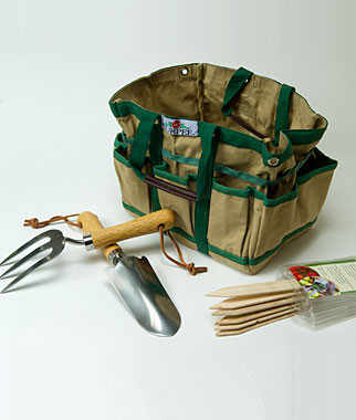 Gardeners Tool Time Gift Set traditional gardening tools