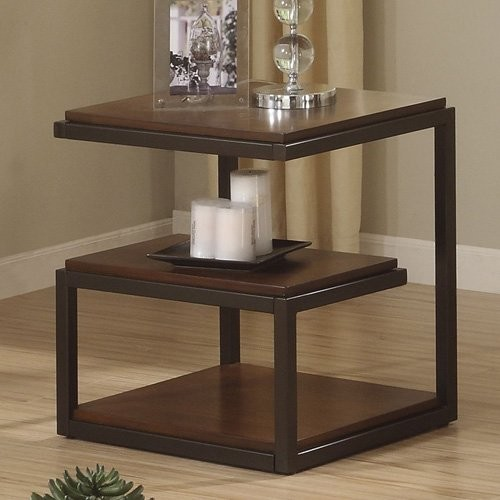 Elegant in its simplicity, Riverside Escapade End Table is something much mo contemporary-side-tables-and-end-tables