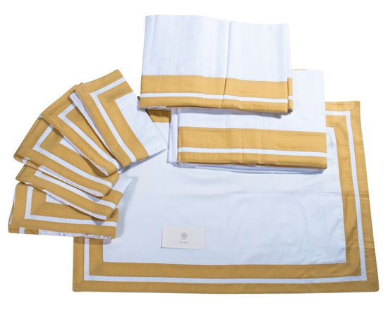 SOLD OUT!  Stunning Set of Frette King Size Linens - NEW - $3,000 Est. Retail - -