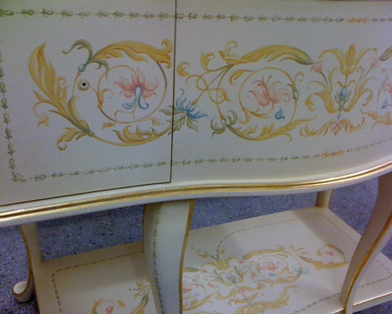 Hand Painted Furniture -