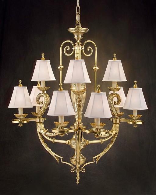 john richard 9 light chandelier ajc 8377 modern. Black Bedroom Furniture Sets. Home Design Ideas