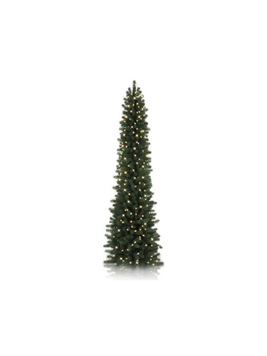 Balsam Hill Sonoma Slim Pencil Artificial Christmas Tree - THE REFRESHING BEAUTY OF BALSAM HILL'S SONOMA SLIM PENCIL TREE
