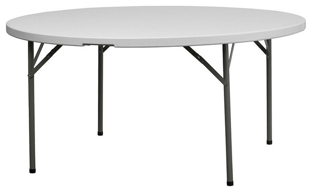 60 Inch Round Folding Tables picture on 60  Granite White Round Plastic Folding Table contemporary bar tables  with 60 Inch Round Folding Tables, Folding Table 1ac84bd8a4109af5e1df2a4da69fa38a
