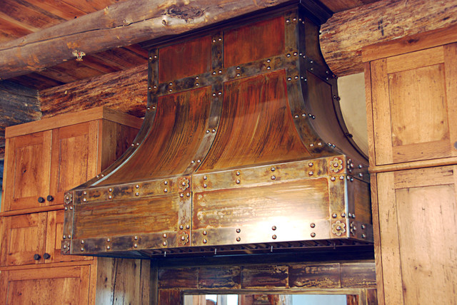 architectural elements custom oven hood industrial