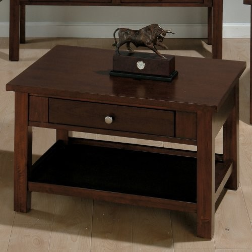 Jofran small space rectangle milton cherry wood lift top coffee table traditional coffee Jofran lift top coffee table