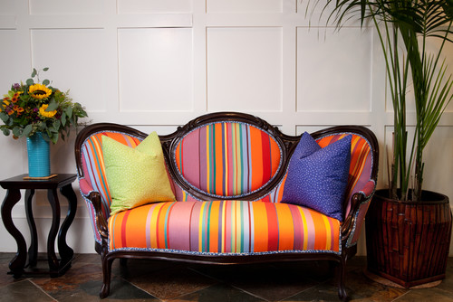 eclectic family room Furniture Matters: The Couch