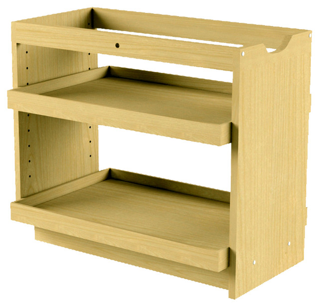 cabinet pullout storage organizer 14 inch wide 2 full shelves modern pantry and cabinet