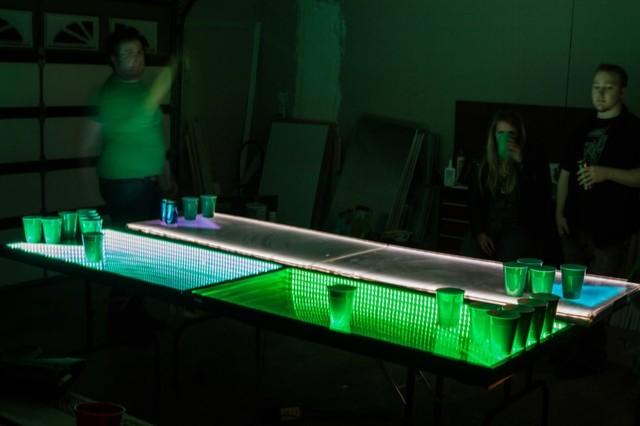 InfiniGlow modern-bar-tables