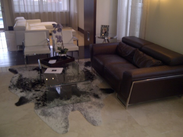 Private Residence - Pembroke Pines contemporary-living-room