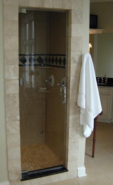 ShowerGuard Frameless Enclosure traditional-showers