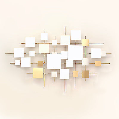 Multiples mirror wall sculpture modern wall mirrors for Modern mirrored wall art
