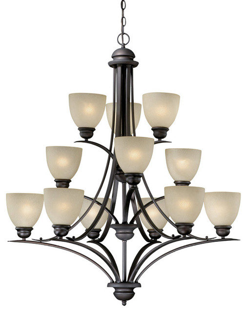 Avalon Light Chandelier traditional-chandeliers