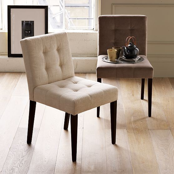 New grid tufted dining chair modern dining chairs by - Tufted dining room chairs ...