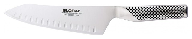 """Global G Series Hollow Ground Oriental Chef's Knife, 7"""" contemporary-chef-s-knives"""