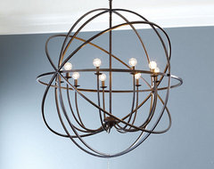 Orb Extra Large Chandelier traditional-chandeliers