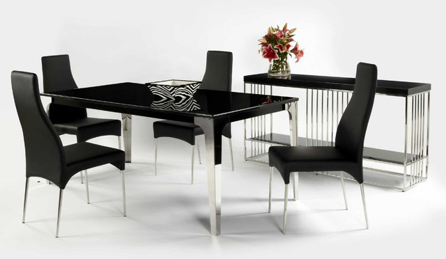 Kitchen Set Contemporary Style  Modern  Dining Tables  minneapolis