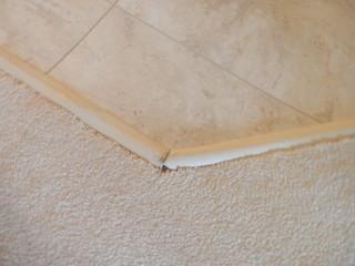 Transition Strips between carpet and vinyl tile