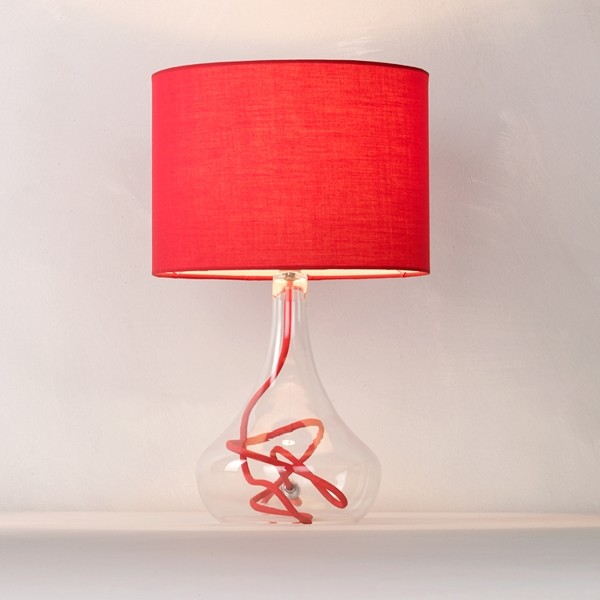 Bedroom Ceiling Lights John Lewis : John lewis jolie table lamp red contemporary