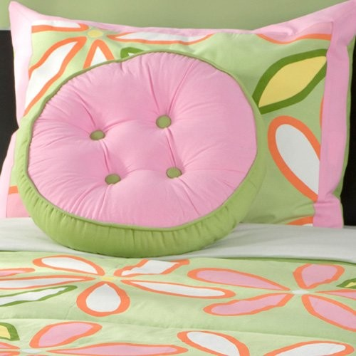 Rizzy Rugs Green Daisy Bed Set contemporary kids bedding