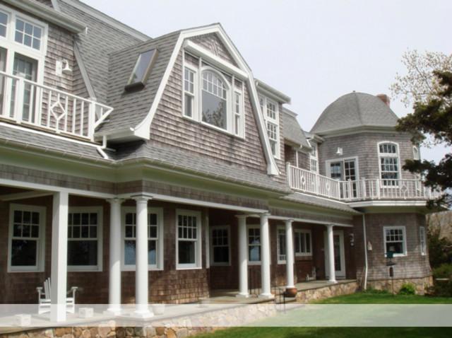 Cape cod shingle style home rustic boston by 3 5 for Shingle art cape cod