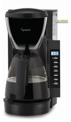 Capresso CM200 10-Cup Programmable Coffee Maker contemporary-coffee-and-tea-makers
