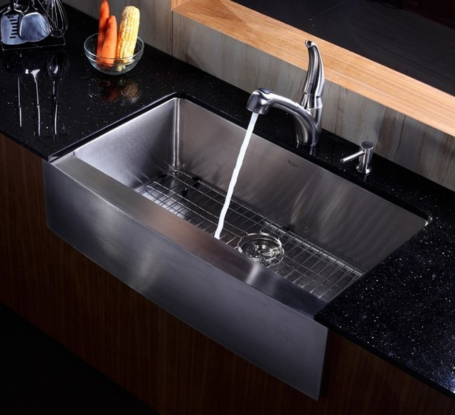 36 Inch Kitchen Sink : All Products / Kitchen / Kitchen Fixtures / Kitchen Sinks