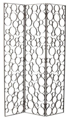 Arteriors Ernesto Iron Folding Screen traditional-screens-and-room-dividers