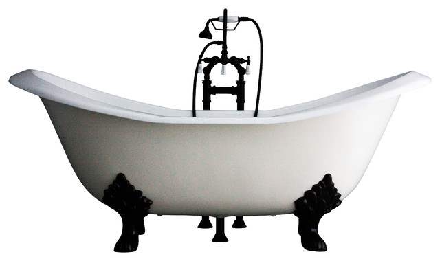 The Dudley Cast Iron Bathtub Package traditional-bathtubs