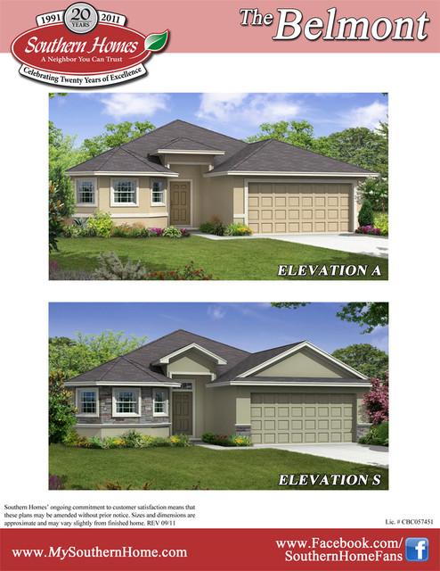 Northside village floor plans north lakeland fl new home for Florida home designs lakeland fl