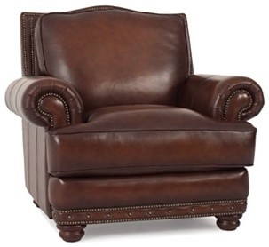 leather living room chair traditional armchairs and accent chairs