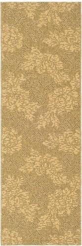 Courtyard Gold/Natural Rug modern-rugs