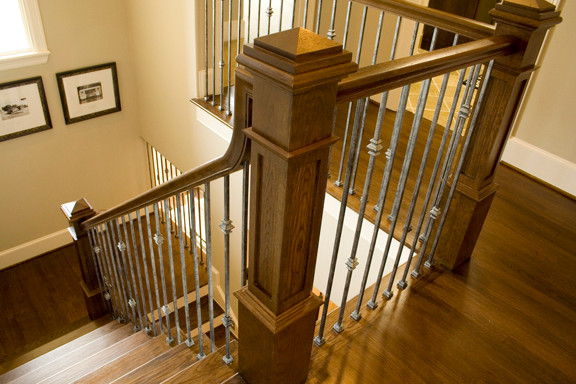 Home Stair Remodel traditional