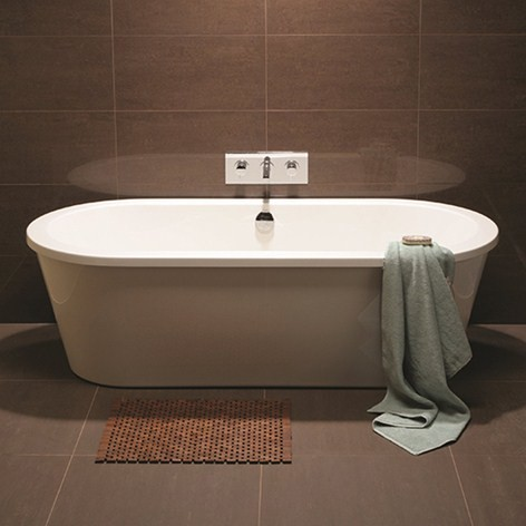 large mocha wall tile bathroom tile new york by