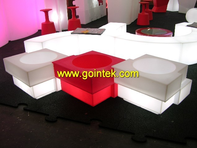 led cube stool modern-indoor-benches
