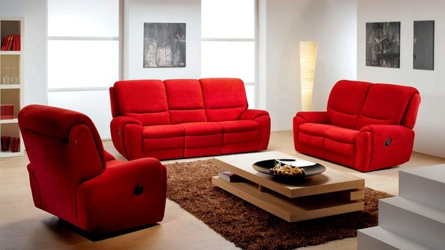 set with recliners by rom belgium modern living room furniture sets