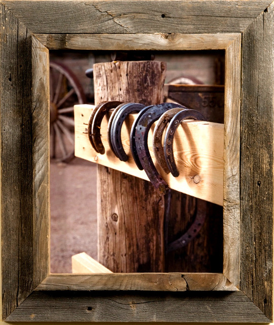5x5 Cowboy Picture Frames, 2.5 inch Wide, Western Rustic Series rustic-frames