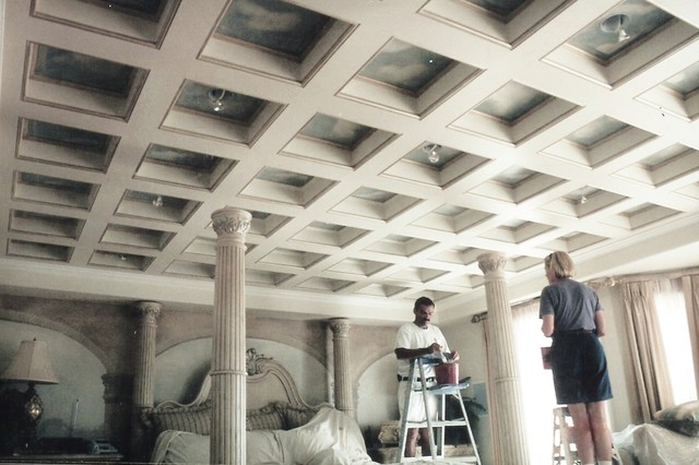 Trompe Loeil Ceilings Traditional Orange County By