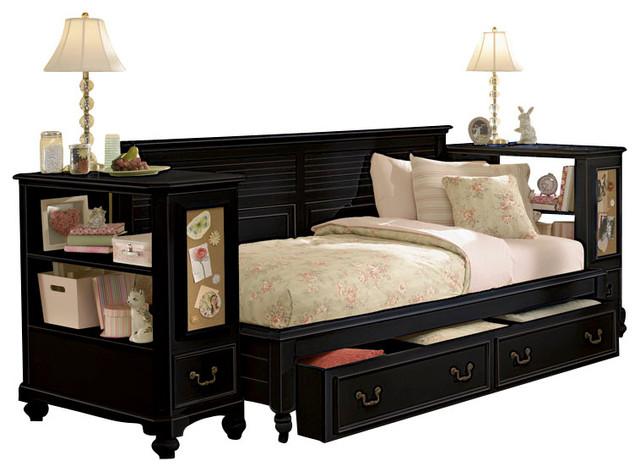 lea retreat 6 piece sideways kids 39 bedroom set in antique
