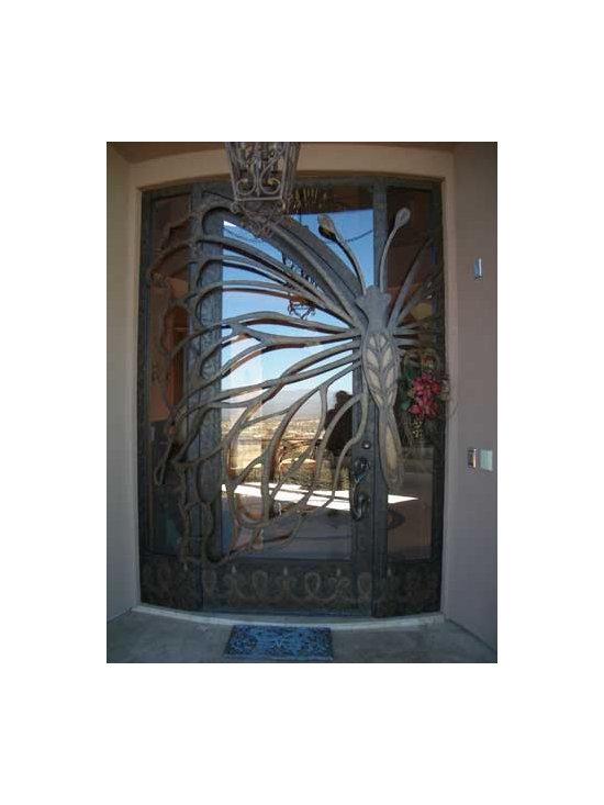 Glass Butterfly Door -