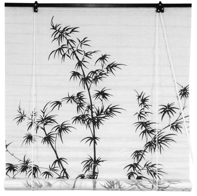 Bamboo Tree Shoji Blind traditional-roller-shades